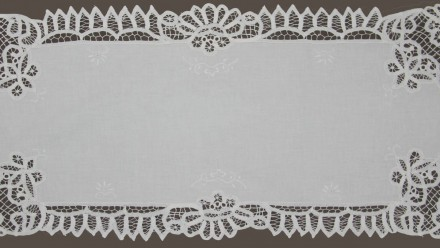 ...and lace doilies
