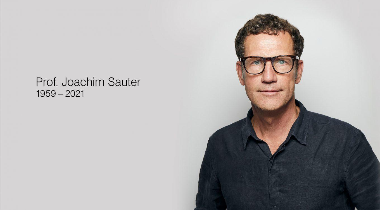 Prof. Joachim Sauter 1959-2021